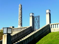 The Vigeland park, Oslo, Norway  - Visited in 2005