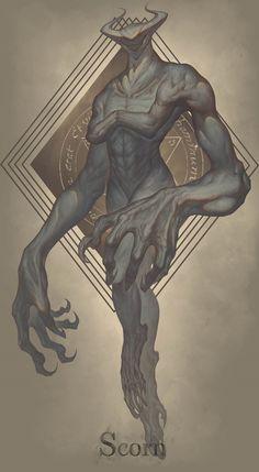 Monster Concept Art, Fantasy Monster, Monster Art, Monster Drawing, Fantasy Character Design, Character Design Inspiration, Character Art, Dark Creatures, Mythical Creatures Art