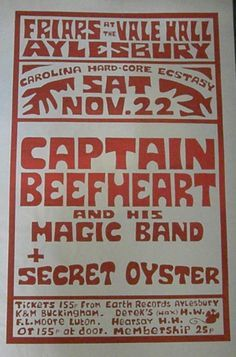 Rock Posters, Concert Posters, Event Posters, Music Posters, Iggy Pop, Magic Bands, Frank Zappa, My Generation, Concerts