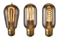Bulbrite Antique-Style Edison Bulbs