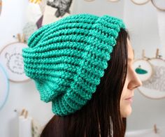 I learned how to knit a hat last year - I can't believe I'm just now documenting it. I'm not a huge fan of hats but this slouchy hat style is super co...