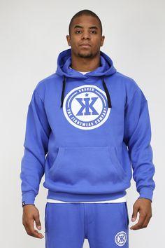 Hoodie Brave Blue by KRAKEN  #menswear #streetwear #fashion #hoodie #mma #bjj #krakenwear