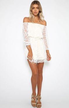 Perla Dress - White