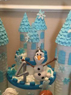 Torta con Olaf
