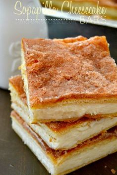 These crispy, creamy Sopapilla Cheesecake Bars are the BEST and EASIEST recipe! This foolproof recipe is so simple to make and tastes amazing!