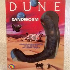 Dune Sandworm by LJN 1984 #Dune #davidlynch #frankherbert #ljn #actionfigure #actionfigures #toyhunter #vintagetoys #battlematicaction #sting #feyd #sandworm #thespice #1984 by therealtoyhunter