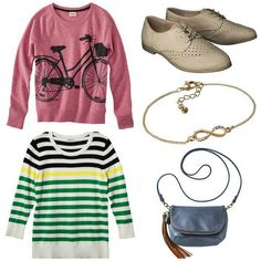 Five for Friday, Vol. 17 – Looking to March   Style On Target   bike sweatshirt stripe sweater
