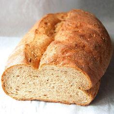 Caraway Rye Bread, from http://www.kingarthurflour.com/blog/2013/03/01/caraway-rye-bread-deli-cious/