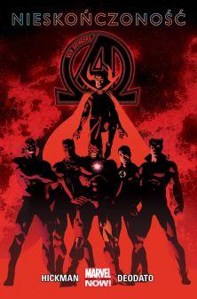 """Jonathan Hickman (sc.), Mike Deodato (rys.), """"New Avengers #2: Nieskończoność"""", tłum. Marek Starosta, Egmont Polska, 2016."""