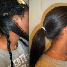 7 Steps to Minimize Damage When Using Heat on Natural Hair | Black Girl with Long Hair