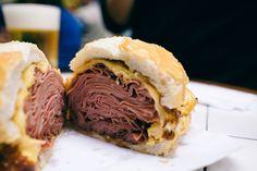 Sao Paulo Cray !!! The Best Mortadella Sandwich From Bar do Mané in Mercado Municipal