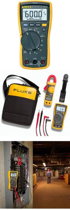 Electrical Testers 126406: Fluke Electrician S Digital Multimeter With Non-Contact Voltage 117 New -> BUY IT NOW ONLY: $194.35 on eBay!