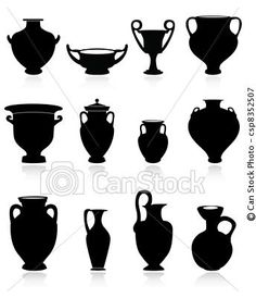 greek pottery shapes Let's just sit here and be in shock that I still remember all of the different types by name....