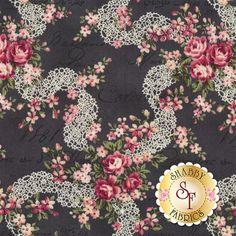 Ruru Bouquet Prima RU2260-16F by Quilt Gate Fabrics: Ruru Bouquet Prima is a collection by Quilt Gate Fabrics.Width: 43