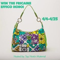 Fricaine Effico Hobo Giveaway 04/25 - Tales From A Southern Mom