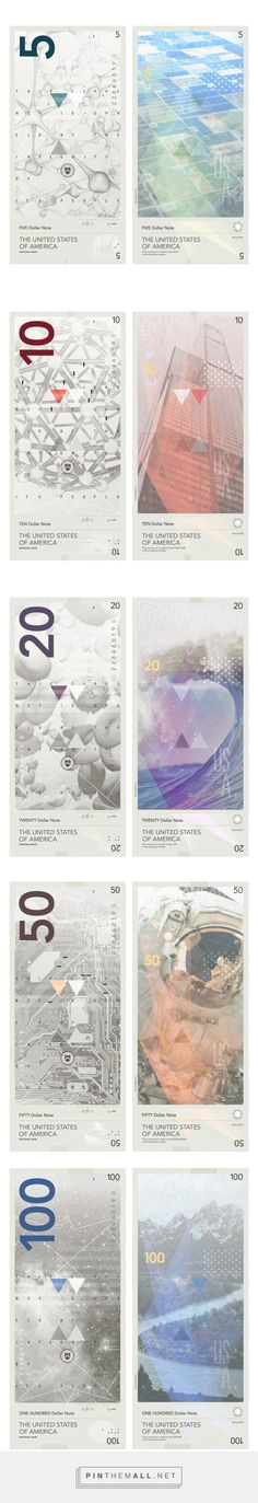 An updated banknote proposal created for the United States of America