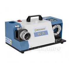 Masina pentru ascutit burghie (cu diametre intre 12-26 mm) BERNARDO model DG 26 Electronics, Metal