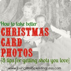 How to take better Christmas Card photos {8 tips for getting shots you love}