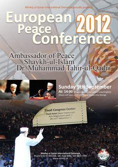 European Peace Conference 2012 - Minhaj-ul-Quran International