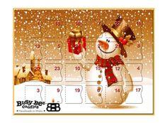 Vianoce sa blížia a u nás na e-shope sa to len tak hemží vianočnými novinkami! Napríklad aj týmto voňavým adventným kalendárom plným vonných voskov 😍  #kouzlokoupele #prirodnakozmetika #handmade #crueltyfree #veganfriendly #vonnevosky #sojovesvicky #sviecky #kuzlokupela Busy Bee, Advent Calendar, Candles, Christmas Ornaments, Holiday Decor, Advent Calenders, Christmas Jewelry, Candy, Candle Sticks