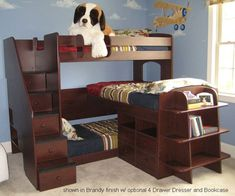 Host a lot of sleepovers? The Trifecta Loft Bed is perfect for that! And your kids will love it, too ;)
