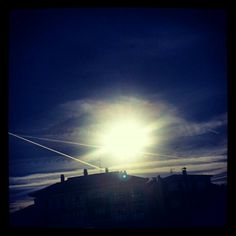 #cielo #azul  #torrelavega