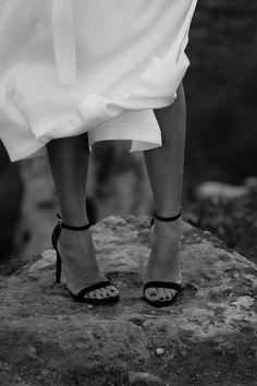 White dress: Mango, Heels: Yves Saint-Laurent …text under construction. Art Director, Yves Saint Laurent, White Dress, Stylists, Sexy, Photography, Dresses, Style, Vestidos