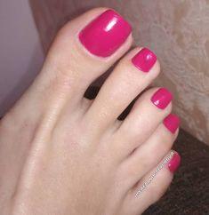 Pretty Toe Nails, Cute Toe Nails, Sexy Nails, Sexy Toes, Pretty Toes, Pink Pedicure, French Pedicure, Beautiful Toes, Gorgeous Nails