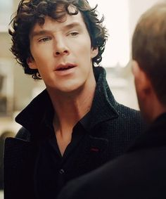 striking a pose without meaning to. Sherlock
