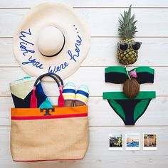 """""""Throwback to sunny days in Honolulu. #AlohaBloomies (Tap for credits.) Bikini: #ToryBurch"""" Photo taken by @bloomingdales on Instagram, pinned via the InstaPin iOS App! http://www.instapinapp.com (01/21/2016)"""