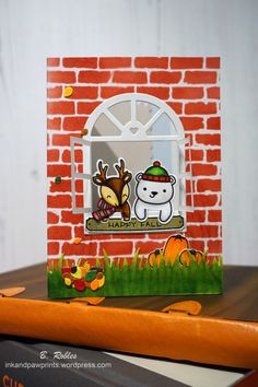 """Hi! Today I'm sharing a card featuring Lawn Fawn """"For you, deer"""" stamps and dies. When I first saw this super cute stamps, I knew I had to buy them. I was looking forward to playi…"""