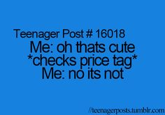 oh this is sad but soo true. But really its a good thing right? I still have lots of money