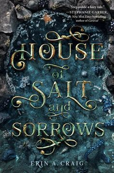 HEA unveils the cover of YA fantasy House of Salt and Sorrows by Erin A. and includes some thoughts from Erin. Erin: I began writing House of Salt and Sorrows shortly … Ya Books, Good Books, Books To Read, Teen Books, Reading Lists, Book Lists, Reading Books, Reading Tree, Until Dawn