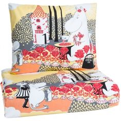 Ruusumuumi kids duvet cover set