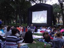 Fargo Park District Movie Night