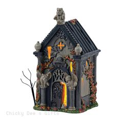 Halloween Village Haunted Crypt  Department 56 4049320 NIB