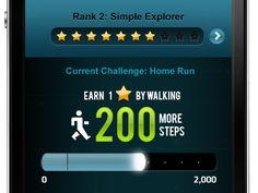 Leah Bancroft - Arookoo Walk app (early design)