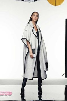 Iranian Women Fashion, Womens Fashion, Fashion Trends, Winter Coats Women, Coats For Women, Abaya Fashion, Fashion Dresses, Designs For Dresses, Fashion Sewing