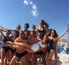 Ana Beatriz Barros a célébré son EVJF sur un yacht à Mykonos avant son mariage avec Karim El Chiaty