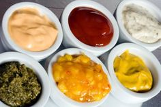 7 delicious homemade sauces for all tastes! Paleo Recipes, Real Food Recipes, Chutney, Sauces, Clean Eating, Healthy Eating, Healthy Food, Dips, Gastronomia