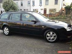 Ford Mondeo Ghia black Estate 2.0 Tdci 130 bhp (Mot till Dec) spares or repair #ford #mondeo #forsale #unitedkingdom
