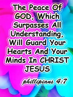 Peace Phillipians 4:7