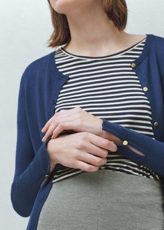 Buttoned cardigan | MANGO