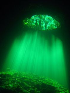 Visit from outer space or diving Cenotes Photo by Klaus Bosbach -- National Geographic Your Shot