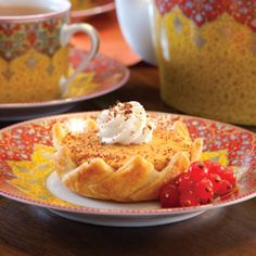 Creamy Pumpkin-Custard Tartlets