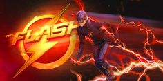 My creative banner for the CW's The Flash TV show