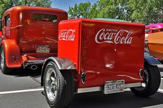 Coca-Cola trailer, Wilderness on Wheels Benefit Car/motorcycle Show, Lakewood, CO