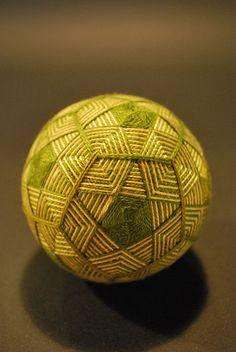Japanese traditional hand made ball, Temari 手毬