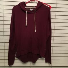 Maroon Pullover similar to brandy melvilles pullover PacSun Sweaters