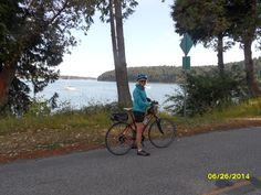 Cycling on the Gulf Islands
